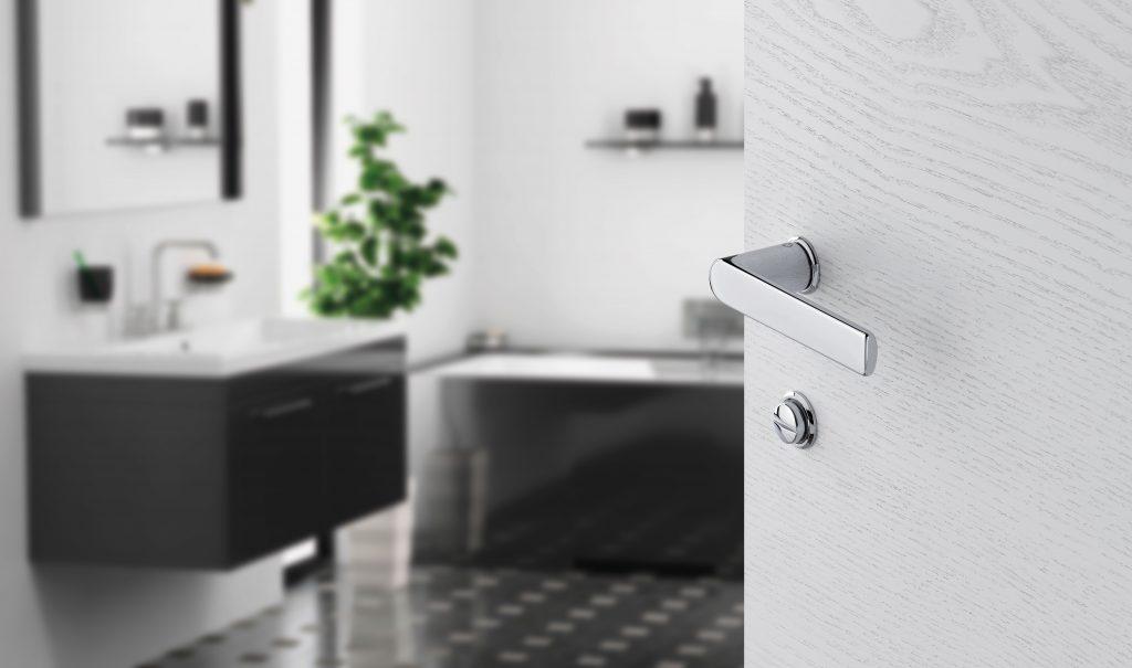 Hoppe minirosett, minimalistlik ja moodne uksekäepide