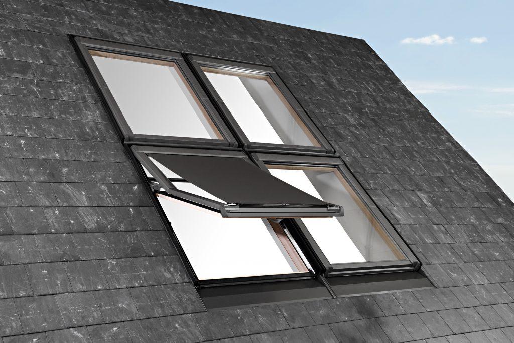 Roto katuseaknale sobiv väline päikeseruloo