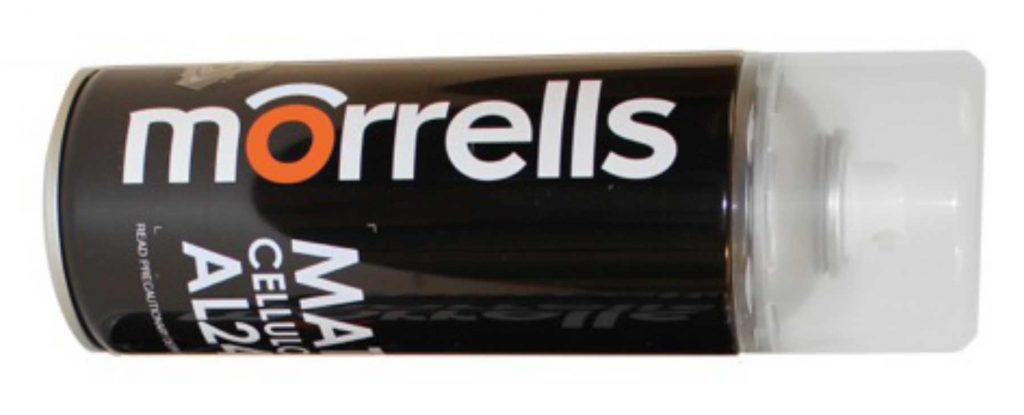 Morrels aerosool on mõeldud pindade katmiseks ja viimistlemiseks. Aerosooli koostises sisalduvad spetsiaalvaigud jätavad parandatud kohast täiusliku ja liighajumiseta viimistletud pinna.