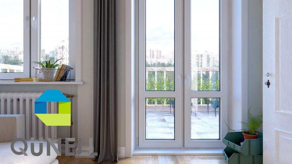 Qünell aknapalede viimistlussüsteem on lihtne ja kiire, säästab aega ja võimaldab vältida pahtlitolmu. Viimistlussüsteem võimaldab valida omale sobivat värvi aknapaled ja muudab aknapaigalduse lõppviimistluse lihtsaks.